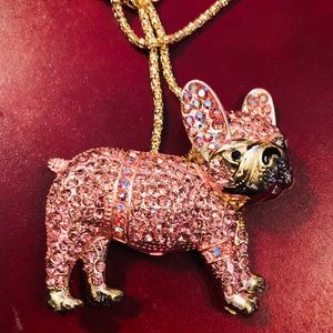 Bling Bulldog Pendant